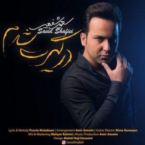 دانلود آهنگ جدید سعید شفیعی به نام درگیرت شدم