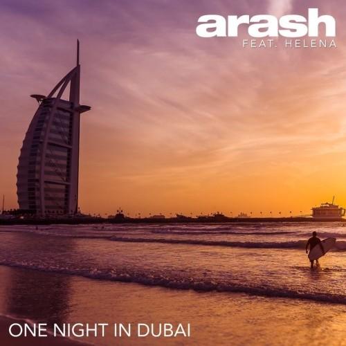 آرش یک شب در دبی