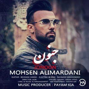دانلود آهنگ جنون این عشق نیست طاقت ندارم من - محسن علیمردانی