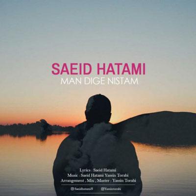 دانلود آهنگ من دیگه نیستم اونی که دنبال عشق میگردی - سعید حاتمی