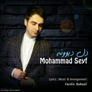 دانلود آهنگ جدید از محمد سیف به نام دل دیوونه